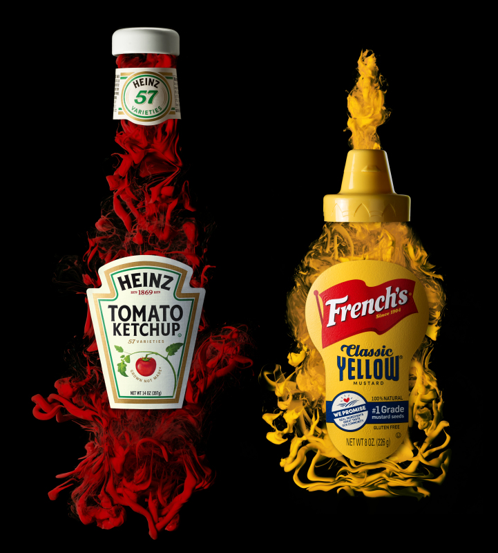 Ketchup and Mustard © Benton Collins