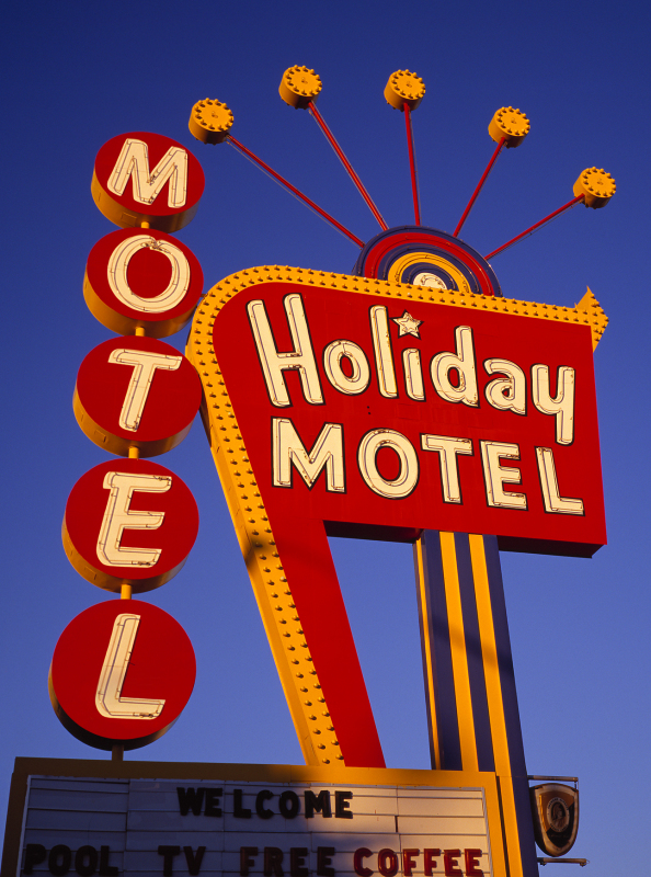 Holiday Motel Sign RT 66