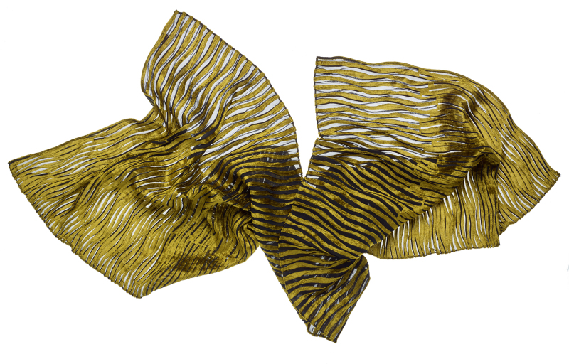 Gold Scarf by Yun Okano