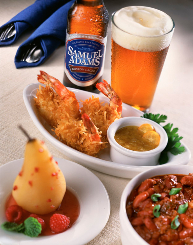Sam Adams & Shrimps